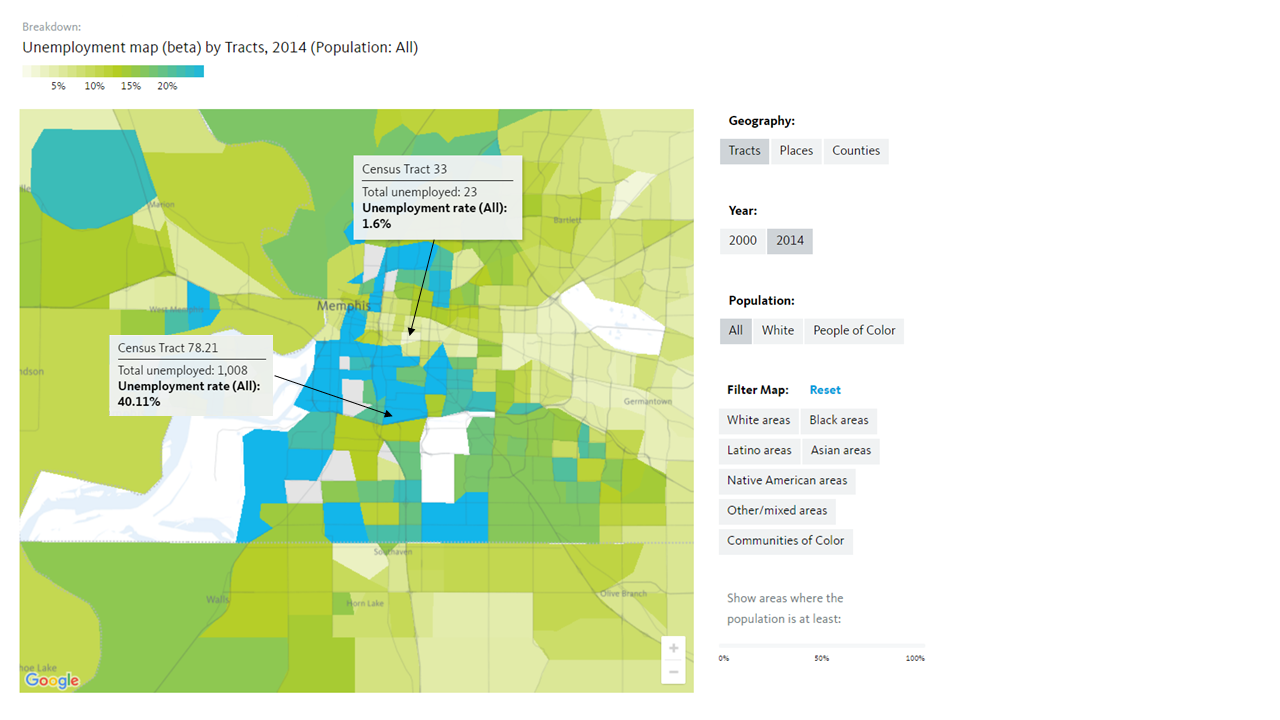 Introducing New Maps: Unemployment by Neighborhood ... on census survey, census block, census region, census form,