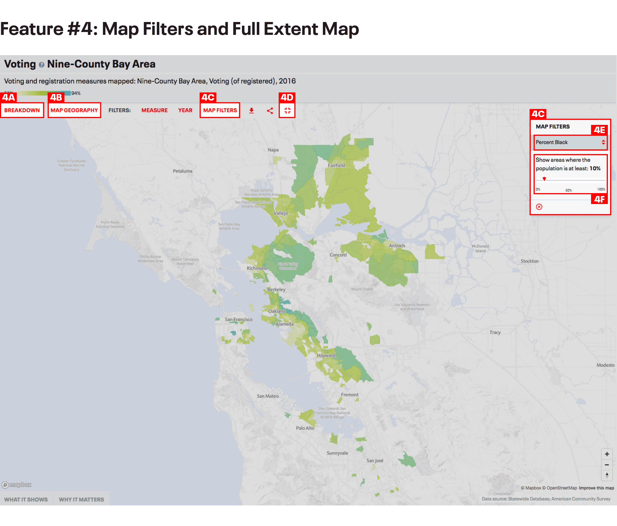 Voting Map Filters