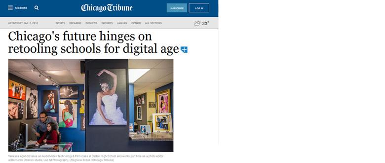 Chicago Tribune Cites Atlas Data on Changing Demographics and Educational Needs for Digitized Economy