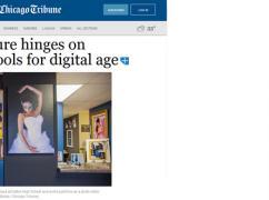 Chicago Tribune Cites Atlas Data on Changing Demographics and Educational Needs for Digitized Economy